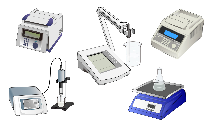 Molecular Biology Equipment (Illustrator, 2012) <br /> <i>All images are licensed under CC-BY 4.0 ©Togo picture gallery by DBCLS</i>